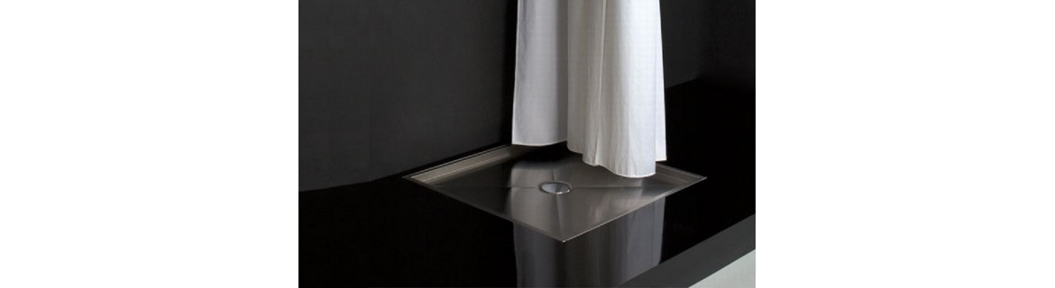 Shower trays stainless steel