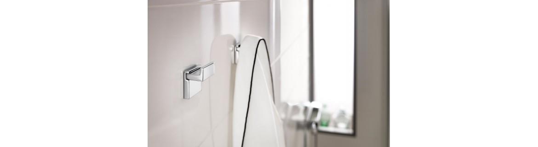 Colgadores para baño
