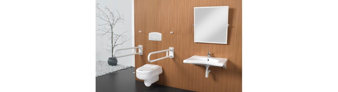 Washbasins for the disabled